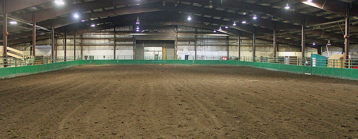 Two Indoor Riding Arenas